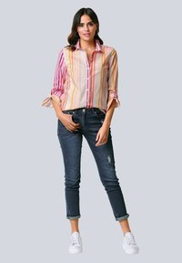 Alba Moda - Button-down blouse - orange/pink/sand - 1