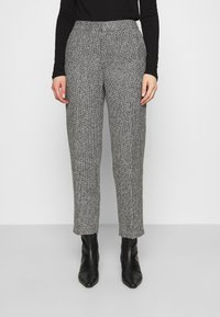 Carin Wester - TROUSERS LOWE  - Bukse - black/white - 0
