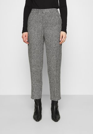 TROUSERS LOWE  - Bukse - black/white