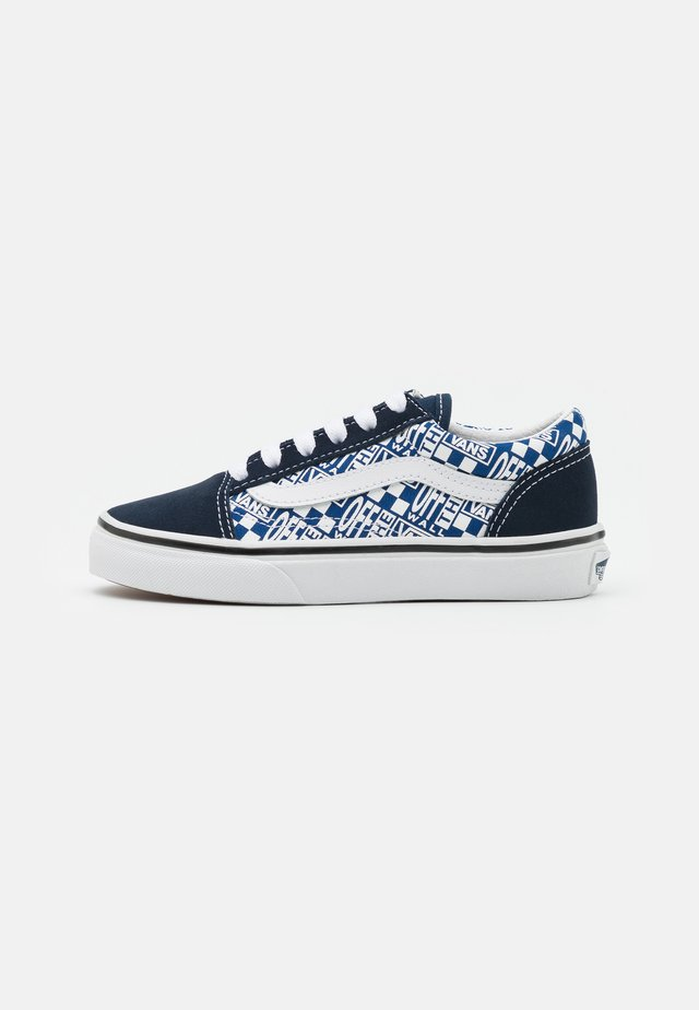 OLD SKOOL UNISEX - Sneakers basse - dress blues/true white