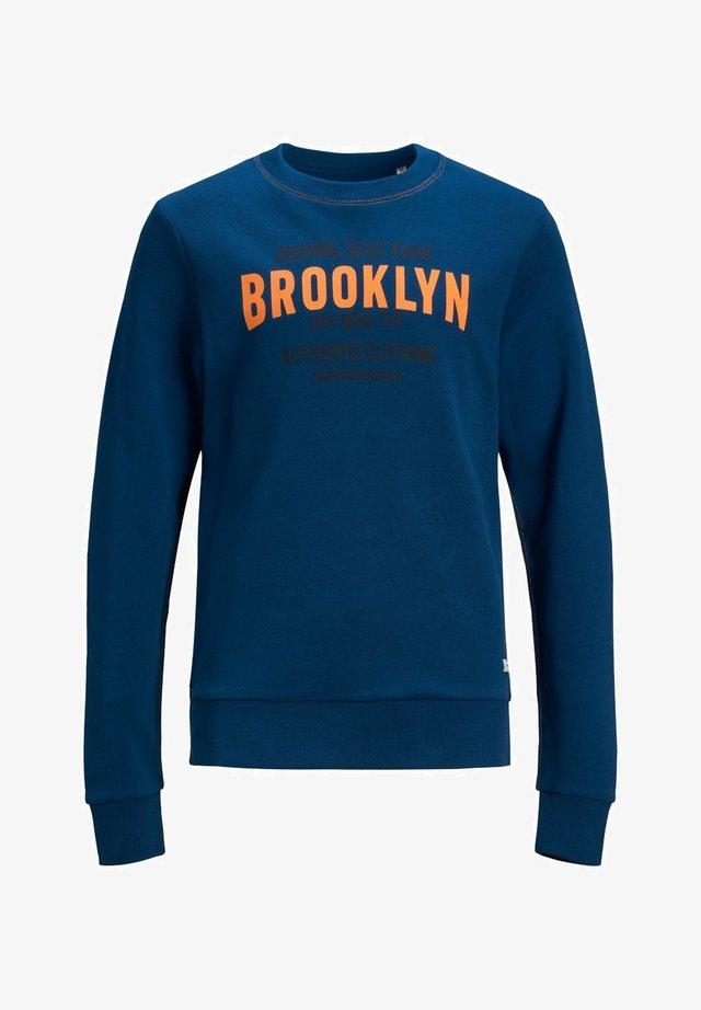 RUNDHALSAUSSCHNITT - Sweater - estate blue