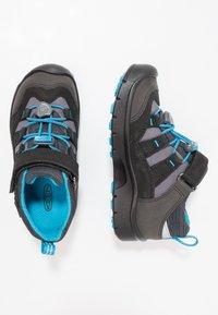 Keen - HIKEPORT WP - Hiking shoes - black/blue jewel - 1