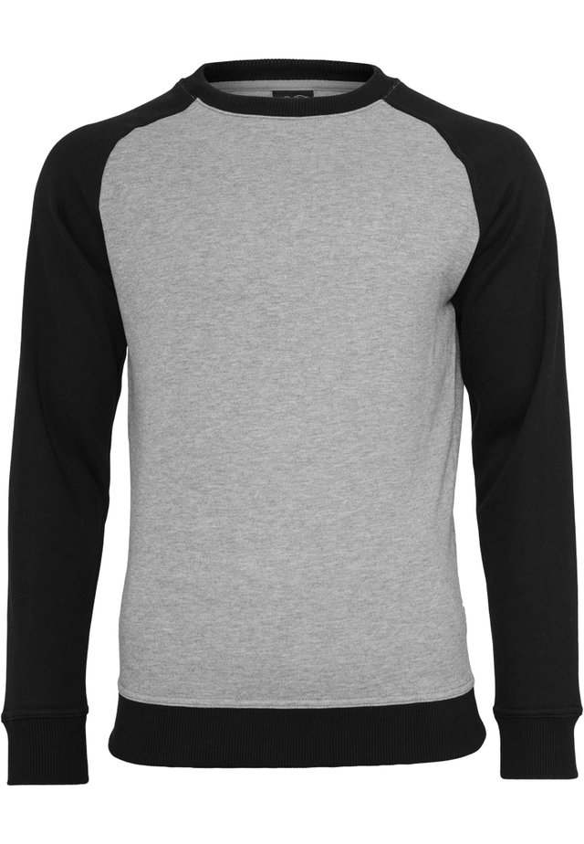 Sweatshirt - grey/black