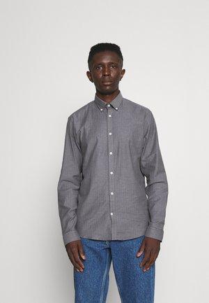 HERRINGBONE SHIRT - Košile - mid grey