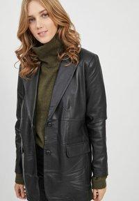 Object - Leather jacket - black - 3