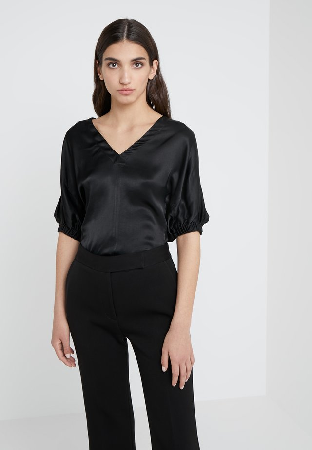 PUFF SLEEVE - Pusero - black