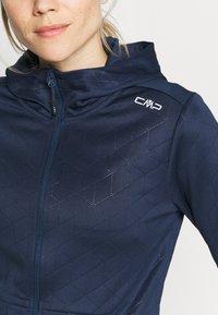 CMP - WOMAN FIX HOOD - Training jacket - blue - 5