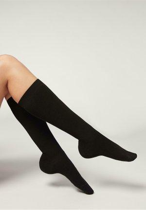 LANGE MIT  - Knee high socks - nero