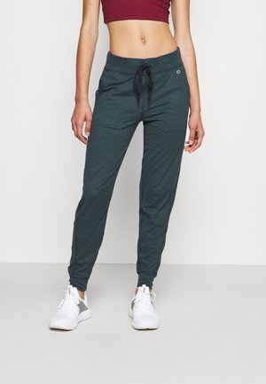 BRUSHED - Tracksuit bottoms - mountain pine