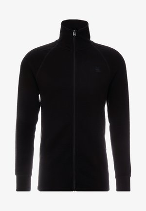JIRGI ZIP - Felpa aperta - dark black