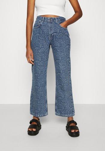 RAPTURE  - Jeans straight leg - mid blue