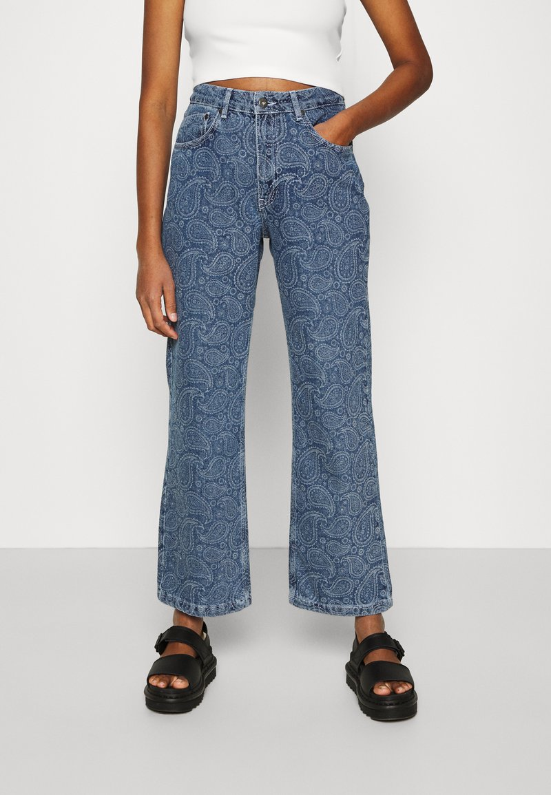 The Ragged Priest - RAPTURE  - Straight leg jeans - mid blue