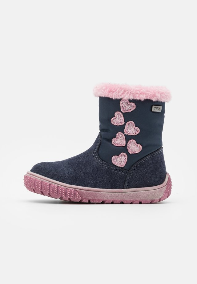 JOLA TEX - Winter boots - navy