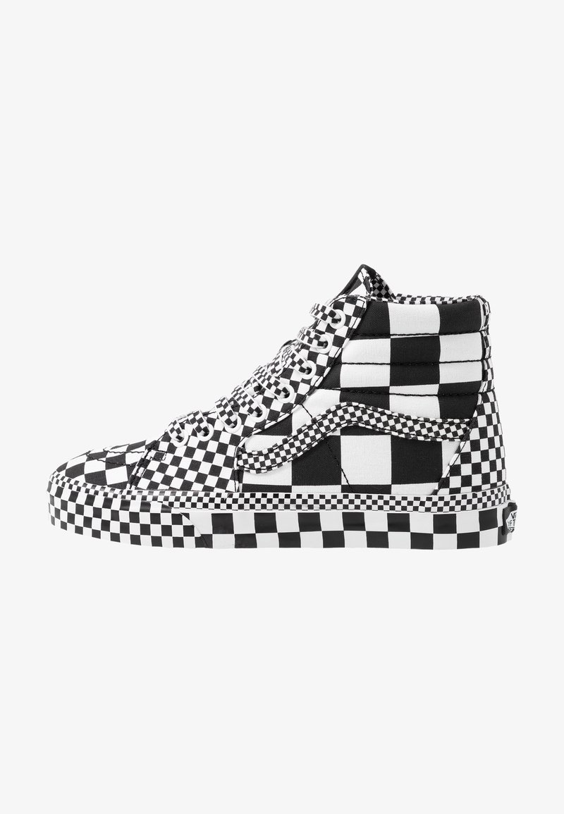 Vans - SK8 - Korkeavartiset tennarit - black/true white