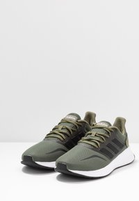 adidas Performance - RUNFALCON - Neutral running shoes - raw khaki/core black/footwear white - 2