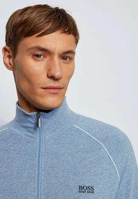 BOSS - Zip-up hoodie - open blue - 3