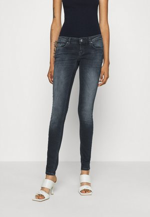 ONLCORAL LIFE - Jeans Skinny Fit - blue black denim