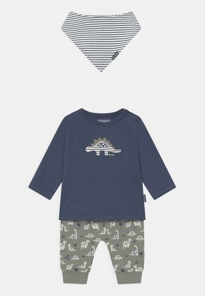 SET - Tygbyxor - dark blue/khaki