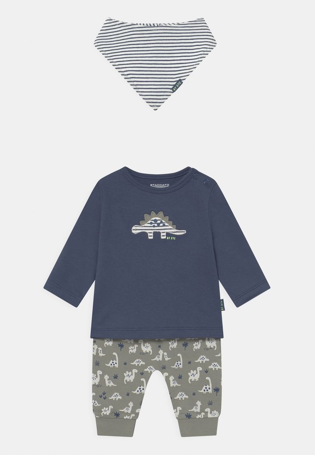 SET - Kalhoty - dark blue/khaki
