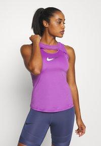 Nike Performance - TANK RUNWAY - Top - purple - 0