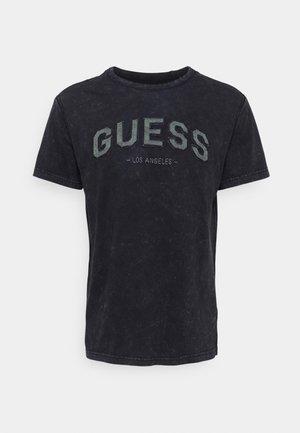 COLLEGE TEE - T-shirt z nadrukiem - smart blue
