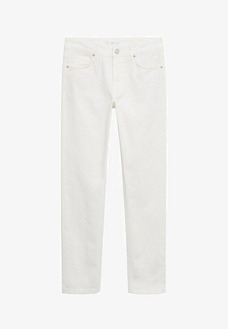 Mango - SLIM FIT - Slim fit jeans - weiß