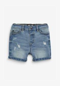 Next - DISTRESSED - Denim shorts - blue - 0