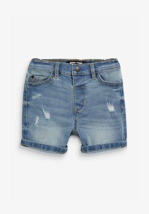 DISTRESSED - Shorts vaqueros - blue