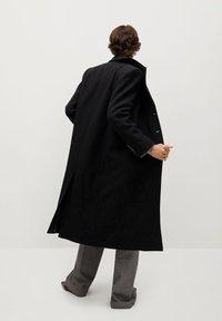 Mango - Classic coat - noir - 2