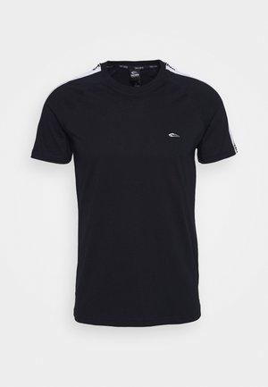 STRIPE - Print T-shirt - blau