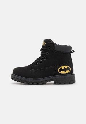 BATMAN - Lace-up ankle boots - black