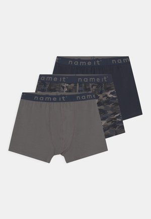 NKMBOXER 3 PACK - Pants - dark sapphire