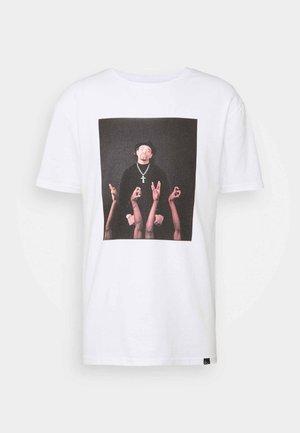 ICE T  - Print T-shirt - white