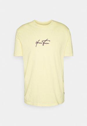 UNISEX - Basic T-shirt - yellow