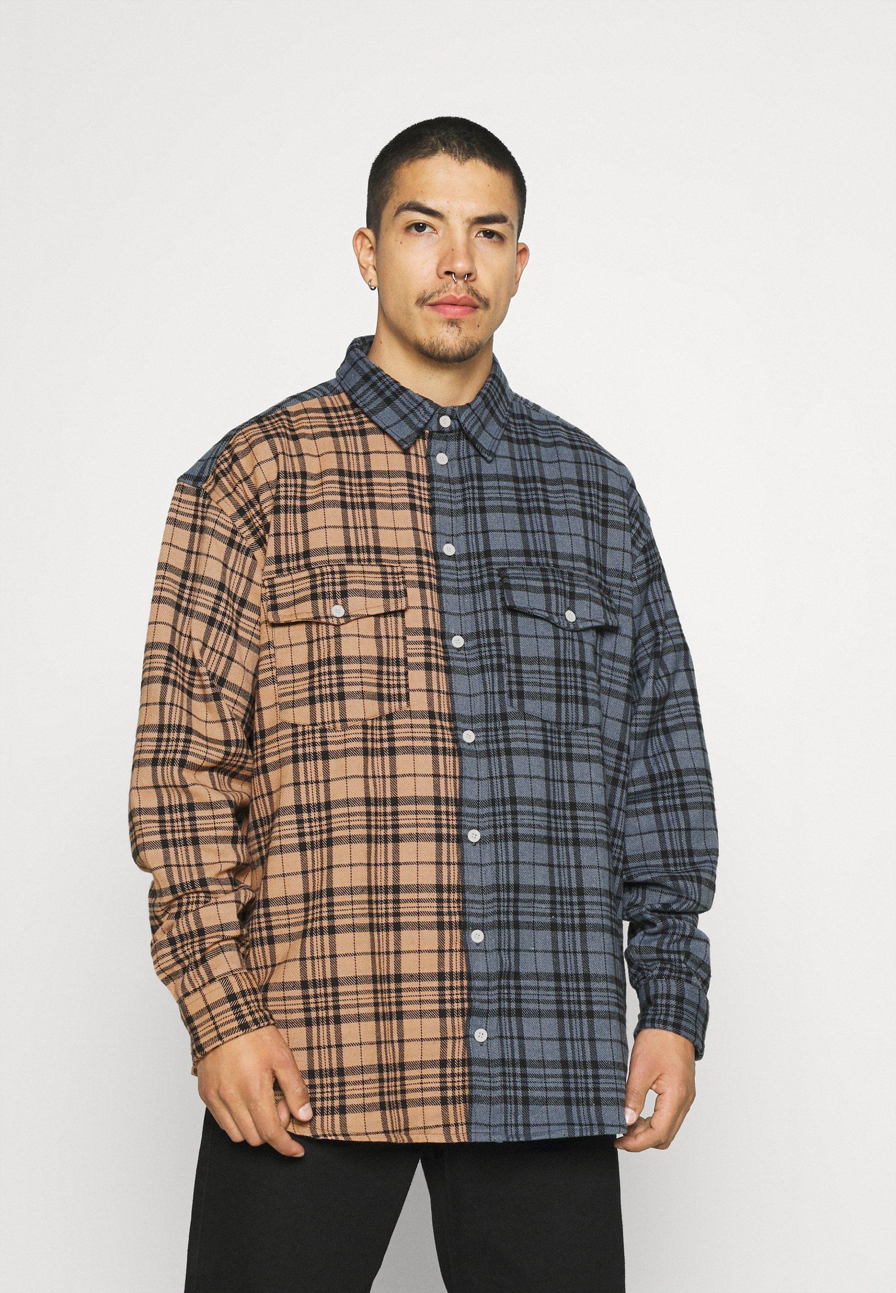 Men ROSEBOWL SPLIT CHECK SHIRT - Shirt
