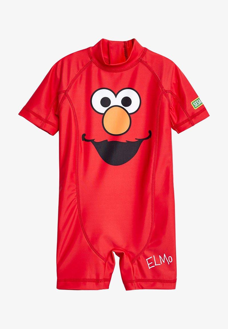 Next - ELMO SUNSAFE - Swimsuit - red