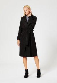 RISA - Classic coat - blac - 1