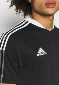adidas Performance - TIRO 21 - T-shirts print - black - 4