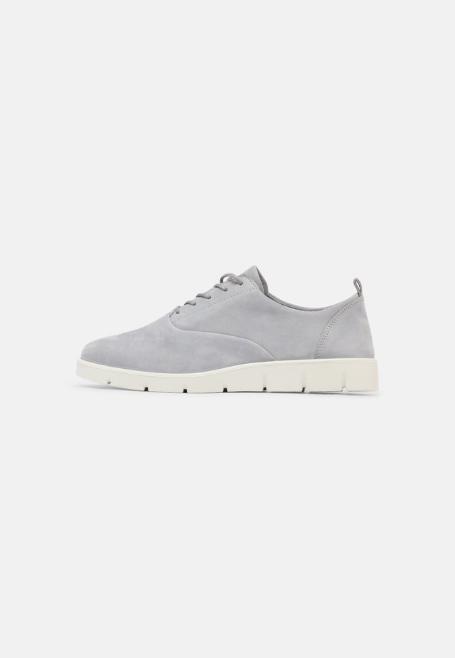 BELLA - Sportieve veterschoenen - silver grey