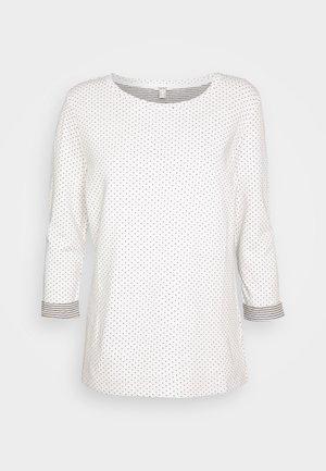 Langærmede T-shirts - off-white