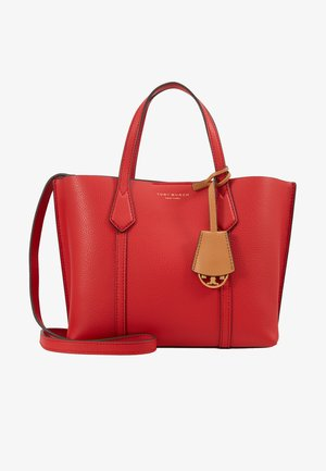PERRY SMALL TRIPLE COMPARTMENT TOTE - Handbag - brilliant red
