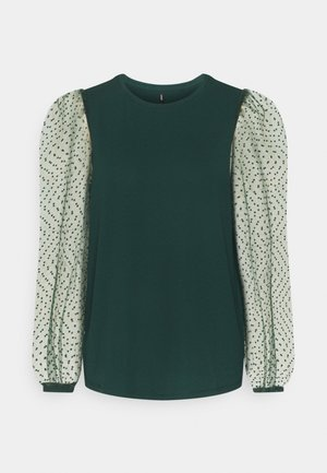 ONLMONNA DOT - Long sleeved top - scarab