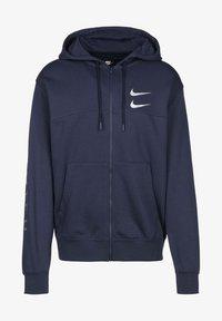 Nike Sportswear - Sudadera - navy/silver foil - 0