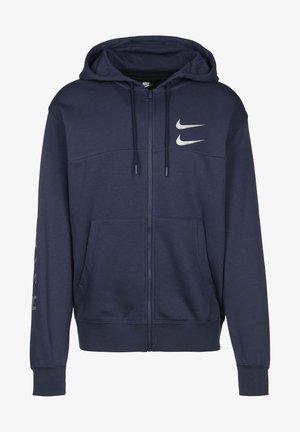 Sweatshirt - navy/silver foil