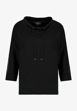 MIT STRASSÄRMEL - Sweatshirt - schwarz