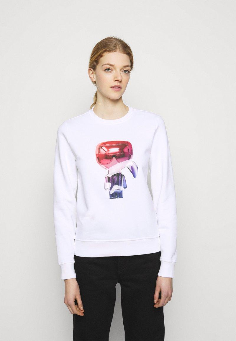 KARL LAGERFELD - IKONIK  - Sweatshirt - white