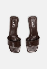 Rubi Shoes by Cotton On - CECIL - Heeled mules - choc - 4