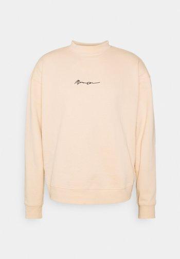 ESSENTIAL SIGNATURE HIGH NECK UNISEX  - Sweatshirts - sand