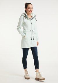Schmuddelwedda - Zip-up hoodie - rauchmint melange - 1
