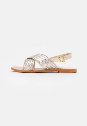 WAPITI - Sandals - gold